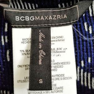 BCBGMaxAzria Jackets & Coats - BCBG Abrial Relief-Jacquard Moto Jacket